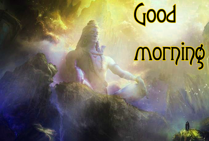 LORD SHIVA GOOD MORNING WISHES IMAGES PHOTO PICTURES FOR WHATSAPP