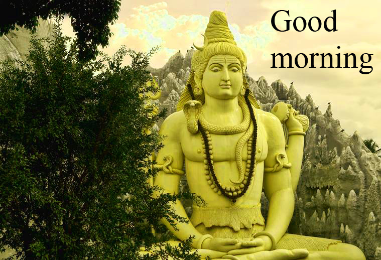 LORD SHIVA GOOD MORNING WISHES IMAGES WALLPAPER PICTURES FREE IN HD