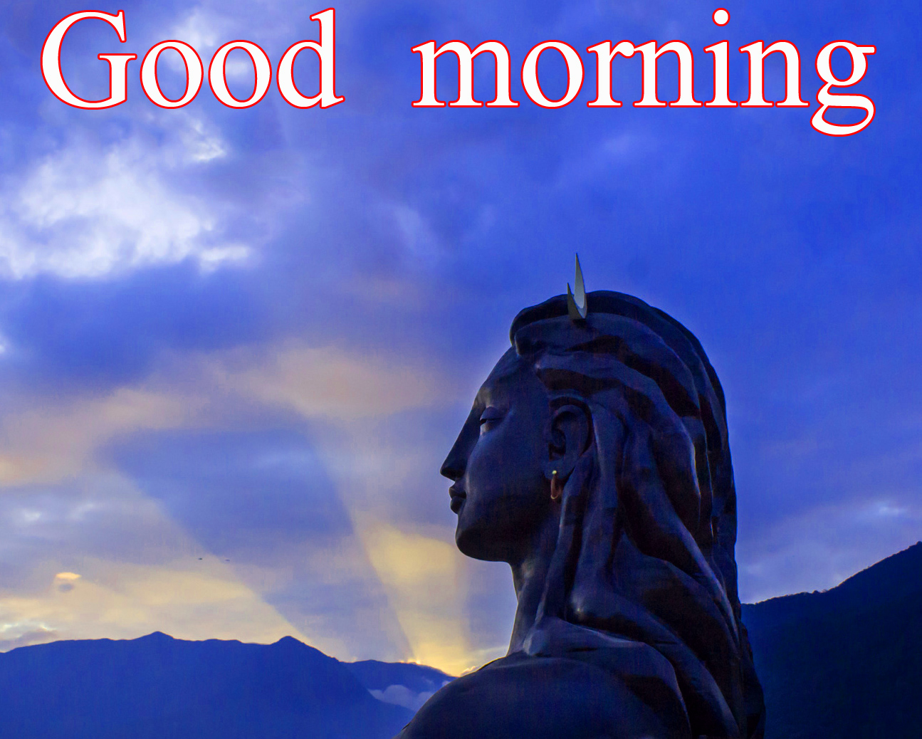 LORD SHIVA GOOD MORNING WISHES IMAGES WALLPAPER PICS DOWNLOAD IN HD