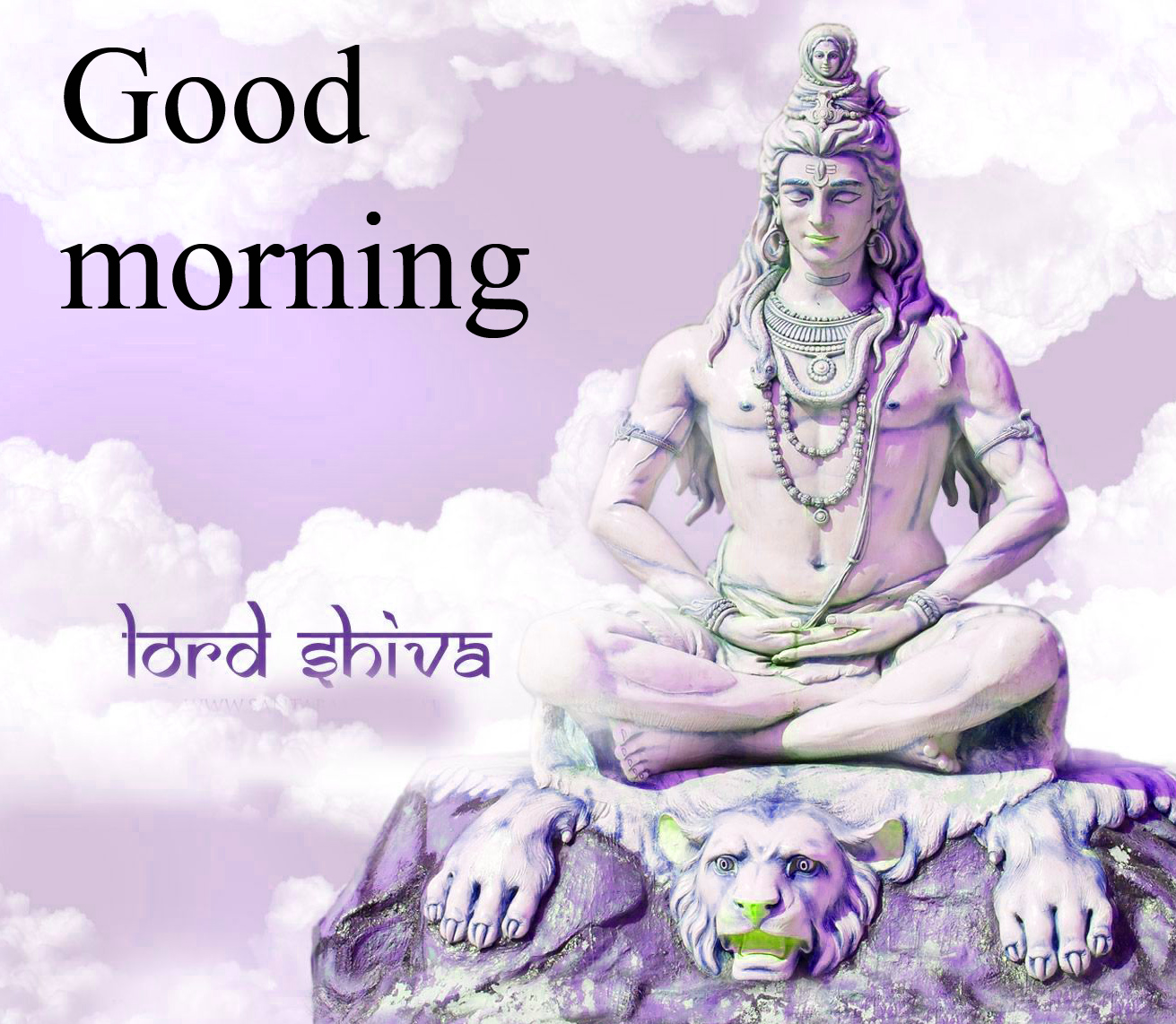 LORD SHIVA GOOD MORNING WISHES IMAGES PHOTO PICS FREE DOWNLOAD