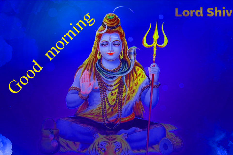 LORD SHIVA GOOD MORNING WISHES IMAGES WALLPAPER PICS DOWNLOAD FOR WHATSAPP