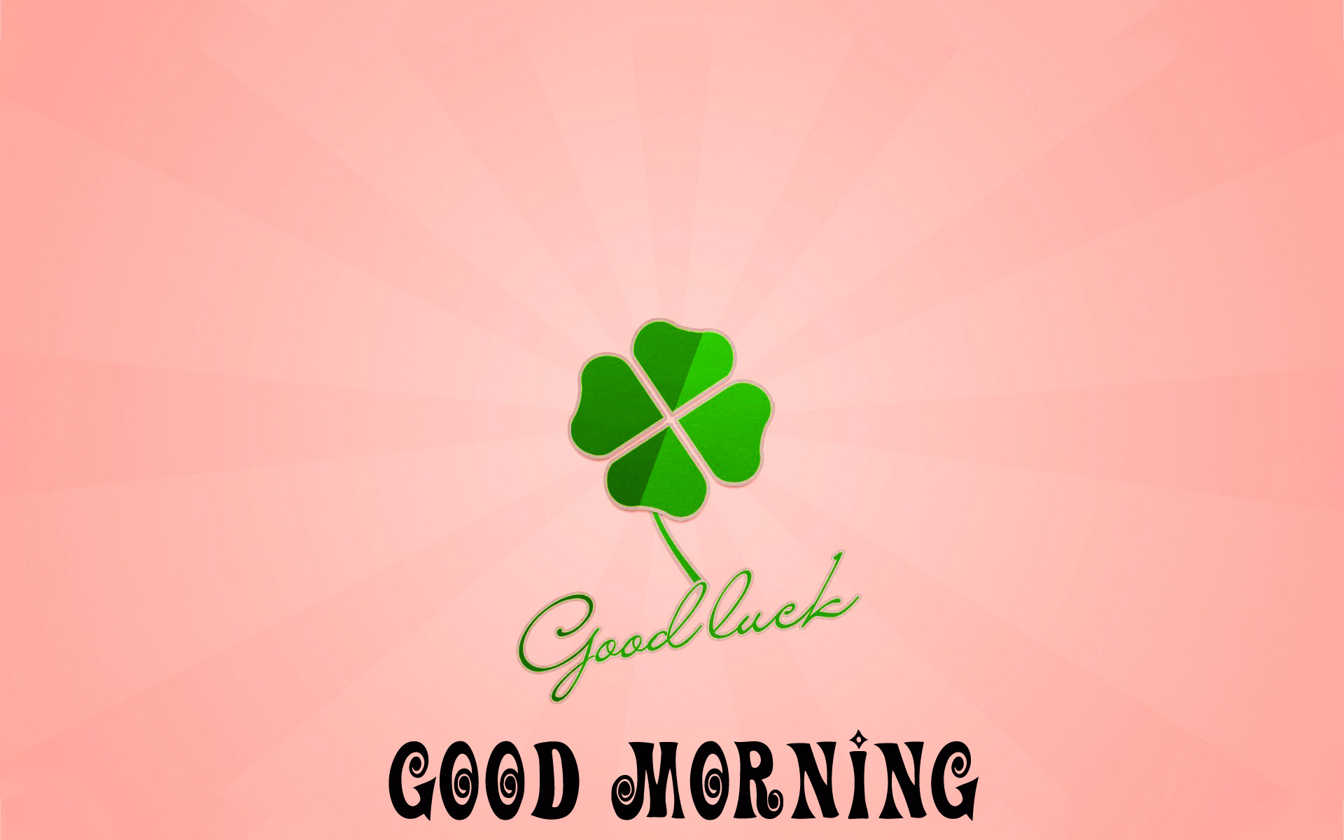 Good morning and good luck wishes Photo Pics Download