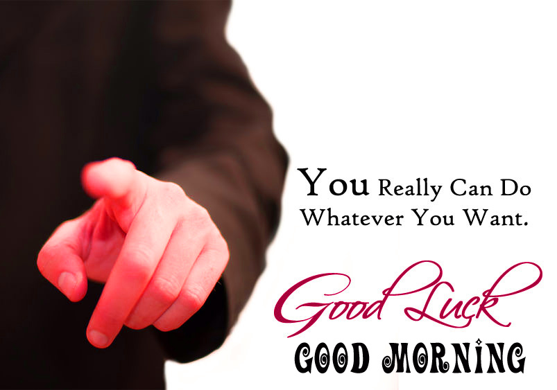 Good morning and good luck wishes Wallpaper Pics Download