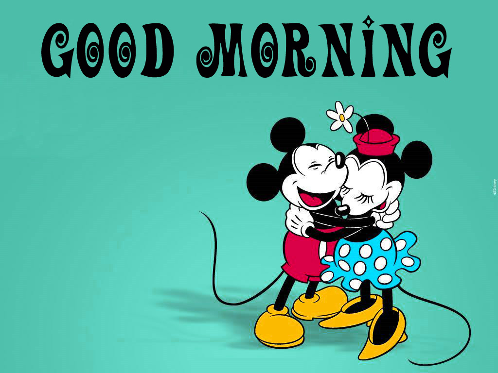 Good morning  wishes with mickey Images Pictures Wallpaper Download