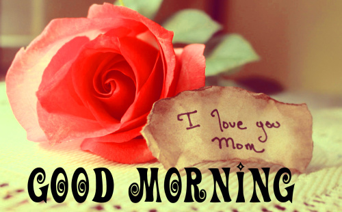 Mom good morning Images Photo Download