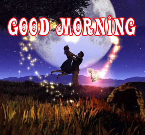 Romantic Lover Best good morning photo Wallpaper Free Download