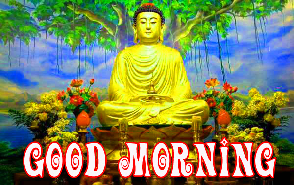 gautam buddha good morning  Photo Pics Download