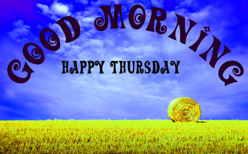 good morning wishes on thursday Images Photo Pics Free Download