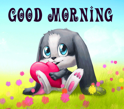 good morning wishes with cartoon images Pictures Photo Download