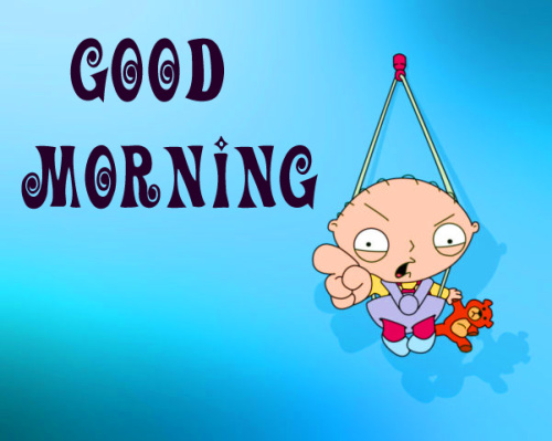 good morning wishes with cartoon images Photo for Whatsapp