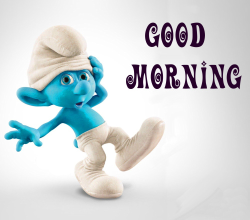 good morning wishes with cartoon images Photo Pics Download