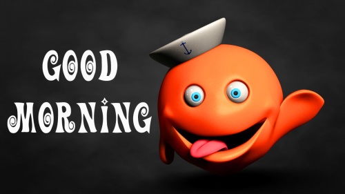 good morning wishes with cartoon images Wallpaper Pics