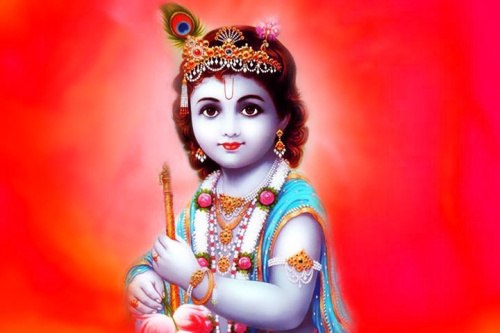 Hindu God Lord krishna Wallpaper for Whatsapp