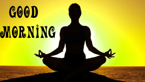 yoga lovers good morning Images Photo Wallpaper Pics