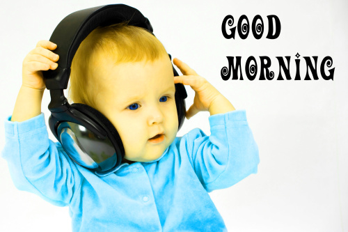 Cute Baby Good Morning Images Pics Wallpaper for Facebook