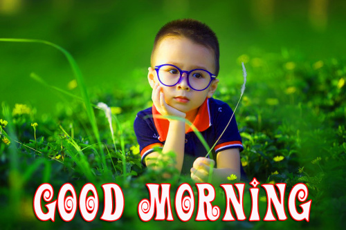 Cute Baby Good Morning Images Pics Wallpaper Download
