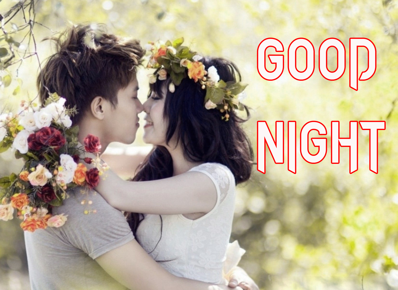 CUTE LOVE  GOOD NIGHT  IMAGES WALLPAPER PHOTO FREE HD