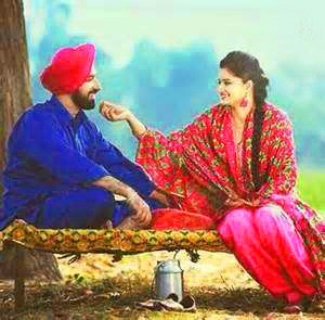 DESI PUNJABI LOVE COUPLE IMAGES WALLPAPER PHOTO FREE HD DOWNLOAD