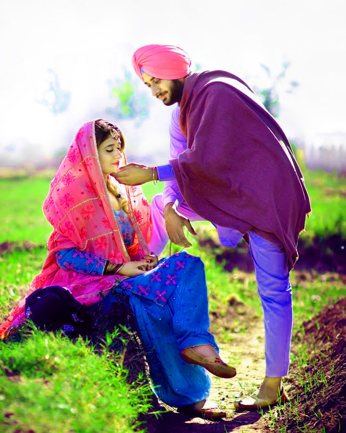 DESI PUNJABI LOVE COUPLE IMAGES WALLPAPER PHOTO HD DOWNLOAD