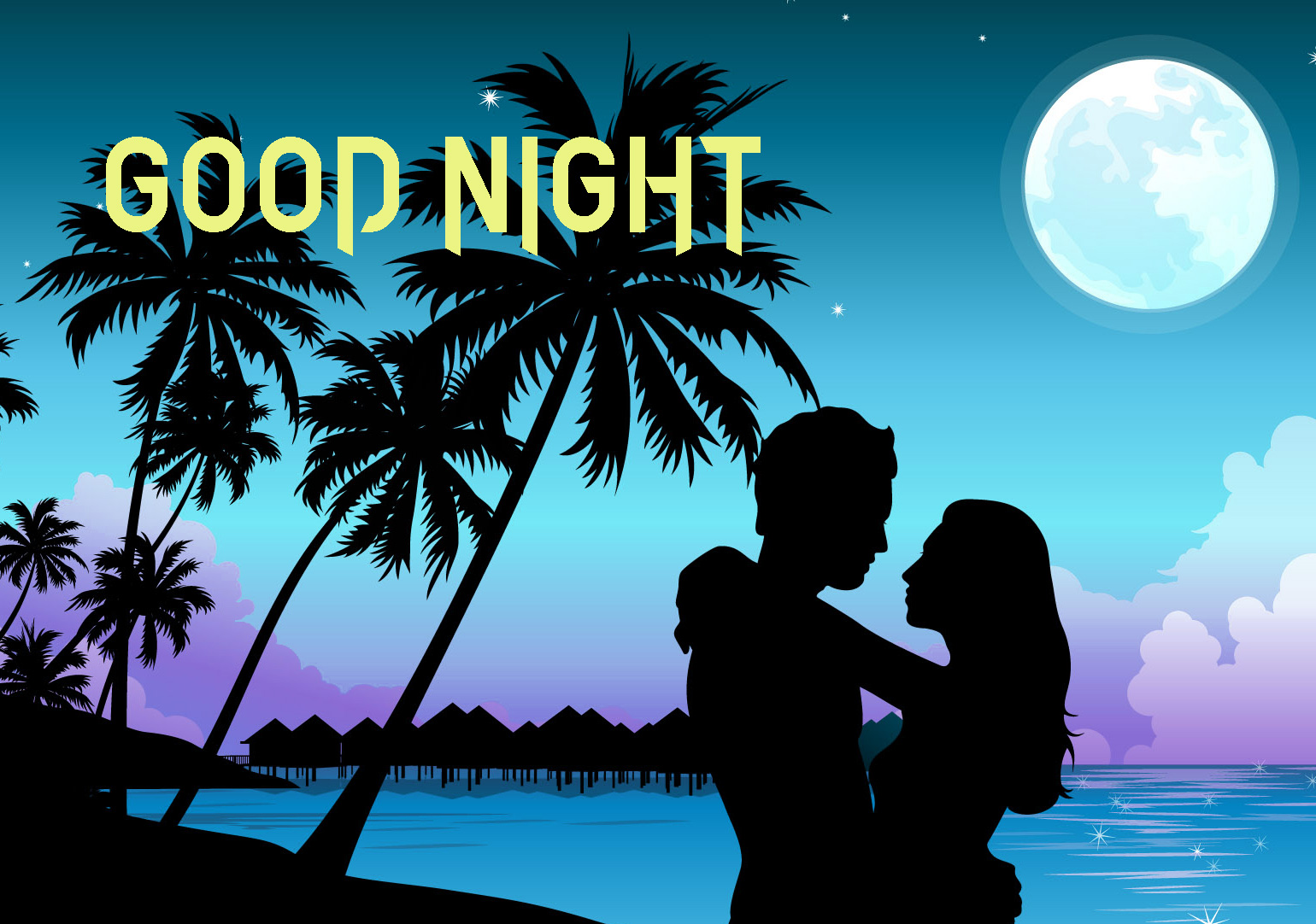 GOOD NIGHT IMAGES  WALLPAPER PICS FOR LOVER