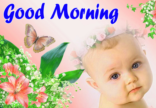 VERY CUTE GOOD MORNING IMAGES PICTURES PICS HD