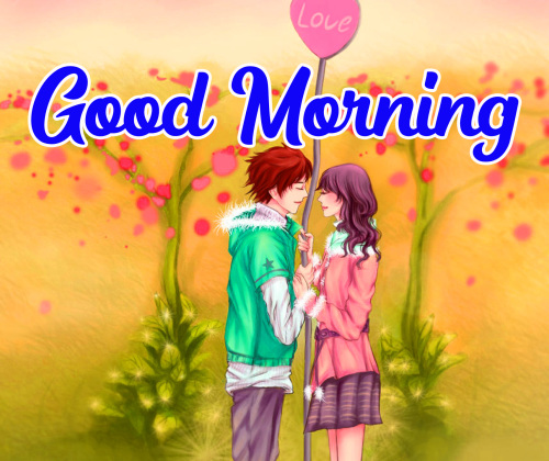 BEAUTIFUL LOVER GOOD MORNING IMAGES WALLPAPER PHOTO HD