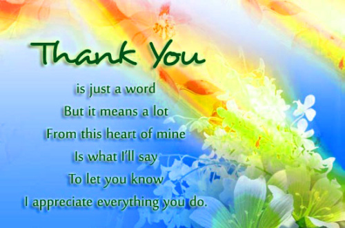 Appreciation Thank You Quotes Images (88)