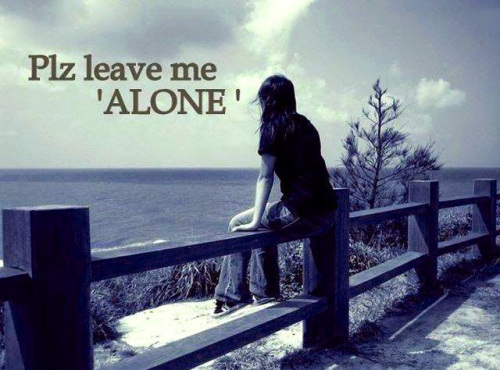 Sad Alone Images With Hindi English Quotes for DP (74)